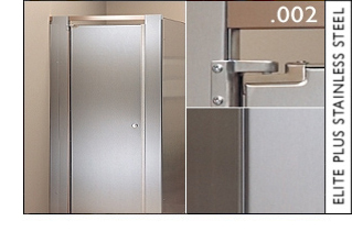 Elite Plus Stainless Steel Toilet Partitions